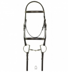 Aramas (1509) Fancy Square Raised Padded Bridle with Fancy Square Raised Lace Reins