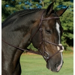Aramas (1506) Fancy Raised Padded Figure-8 Bridle with Rubber Grip Reins