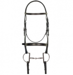 Aramas (1505) Fancy Mild Square Raised Bridle with Fancy Lace Reins
