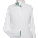 Beacon Hill by Essex Classics Ladies Talent Yarn Wrap Collar Show Shirt