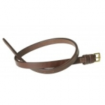 Ovation® Dark Brown  Loop Flash Strap with Buckles