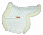 Fleeceworks Sheepskin Show Hunter Pad with Partial Trim & Perfect Balance Technology